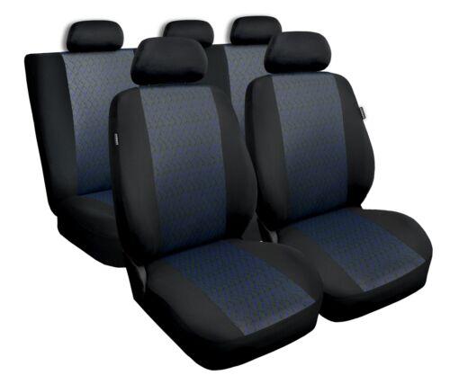 Volkswagen Polo bleu Universal Sitzbezüge Housse De Siège Auto Housses de protection professionnel