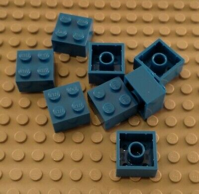 LEGO Lot of 12 Blue 2x3 Building Bricks