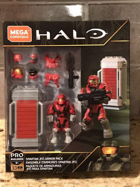Mega Construx Halo Spartan JFO Armor Pack Pro Builders GLB66 FMM81 By Mattel