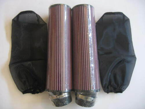"Pair Fit Year 92 YAMAHA BANSHEE YFZ350 12/"" AIR FILTER W//COVER"