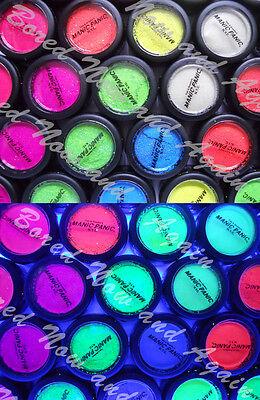 Manic Panic Glow Glitter UV/Black Light Reactive Neon Body Dust Jewellery