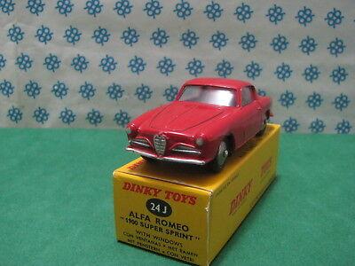 Vintage Alfa Romeo >> Vintage Alfa Romeo 1900 Ss Dinky Toys 24j Ebay