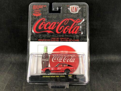 M2 Machines Coca-Cola 1970 Nissan Fairlady Z432 1:64 Scale Diecast 52500