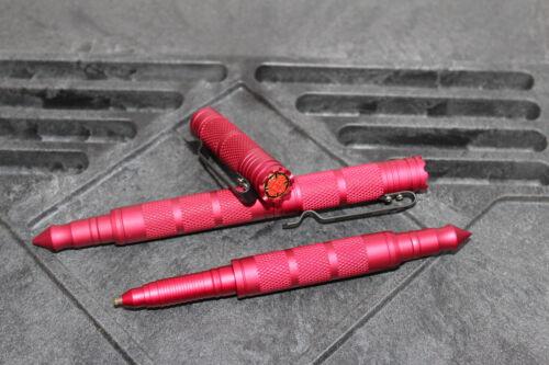 Feuerwehr Tactical Pen Kugelschreiber Kubotan Kubaton mit Firefighter Logo