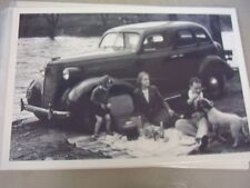1938 Chevrolet 4dr Family Picnic 12 X 18 Large Picture Photo