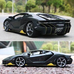 Rare 1 18 Scale Maisto Lamborghini Lp770 4 Centenario Black Yellow