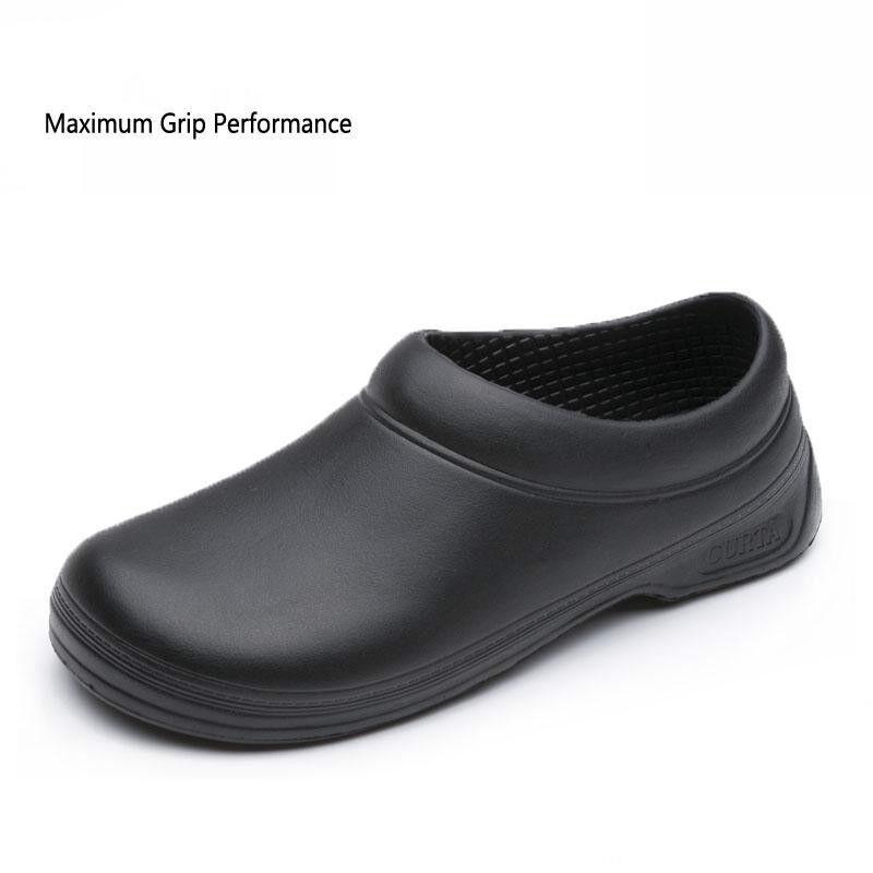 Men S Restaurant Oil Resistant Kitchen Work Shoes Slip On Skid Non Slip