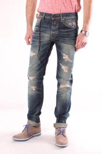 REPLAY ma989q 494 446 009 Lenrick Denim Jeans crepe Pantaloni signori