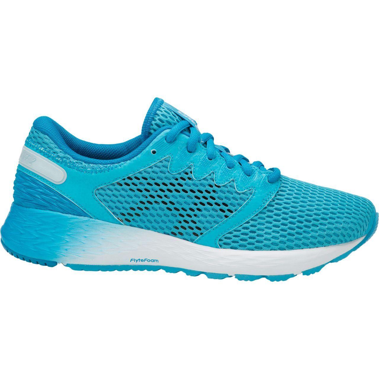 ASICS 1012A123 400 Roadhawk FF 2 aquarium noir femmes Running chaussures