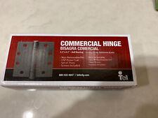 4-1//2 TELL MANUFACTURING HG100012 Prime Ball Bearing Hinge 3 Pack