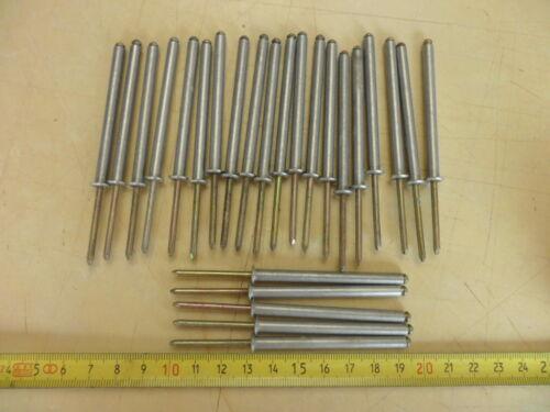 Rivets Pop acier inoxydable assez long X 25