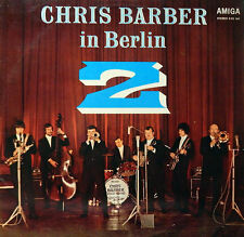 Chris Barber in Berlin 2. Live 1968. AMIGA/ DDR.  NM/ VG
