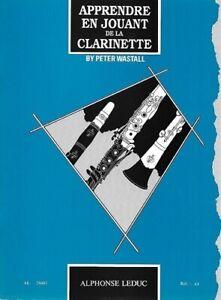 Partition-pour-clarinette-Peter-Wastall-Apprendre-en-Jouant-de-la-Clarinette