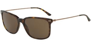 f2bad8bf7bce Image is loading Authentic-GIORGIO-ARMANI-8063-502673-Sunglasses-Havana- Brown-