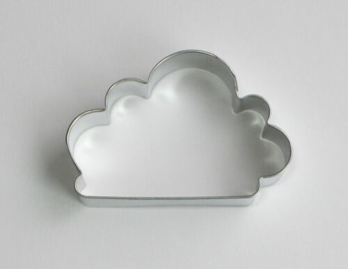 """4/"""" Cloud Sky Tin Plated Steel Fondant R/&M Pastry Cookie Cutter Baking Supply"""