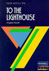 York Notes on Virginia Woolf's  To the Lighthouse by Pearson Education Limited (Paperback, 1988)