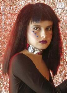 Long-Frizzy-Black-Wig-With-Fringe-Halloween-Pop-Star-Fancy-Dress