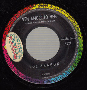 HEAR-Latin-Jazz-45-LOS-ARAGON-Ven-Amorcito-Ven-on-Musart
