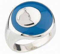Rlm Studio Sterling & Enamel Midnight Eclipse Ring Size 7
