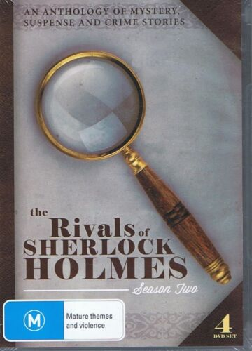 1 of 1 - THE RIVALS OF SHERLOCK HOLMES Season Two 2 (4x DVD) NEW & SEALED Free Post Crime