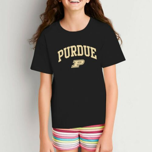 Purdue Boilermakers Arch Logo Licensed Unisex Youth T-Shirt