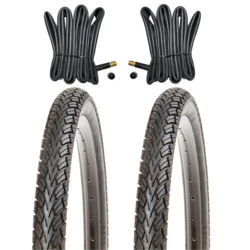 2x Kujo Vélo Pneus 14 in pneus 14x1.75 47-254 Incl 2 x Tuyau avec Av.