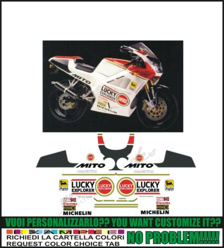 kit adesivi stickers compatibili  mito 1993 lucky ex