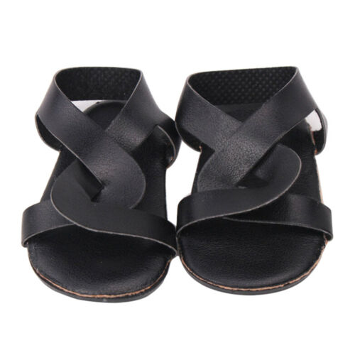 1 Pair doll shoes doll sandals for 18 inch 43cm dolls acces Christmas gift  IS