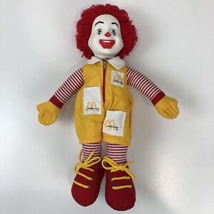 "1984 Ronald McDonald 5/"" Plush Toy Doll"