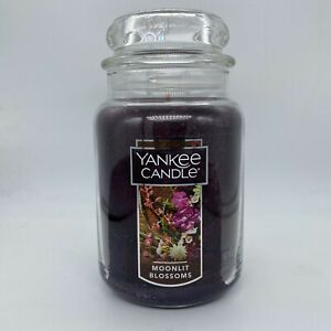 YANKEE CANDLE MOONLIGHT BLOSSOMS LARGE JAR CANDLE 22 oz ...
