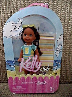Keeya African American Kelly Club Doll 2005 Birthday Party Barbie NEW sealed
