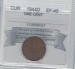 1944D-Curacao-One-Cent-Coin-Mart-Graded-EF-45