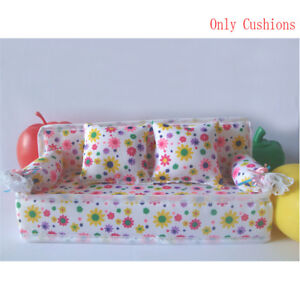 Baby-Toy-Plush-Stuffed-Furniture-3x-Cushions-For-Doll-Couch-I2