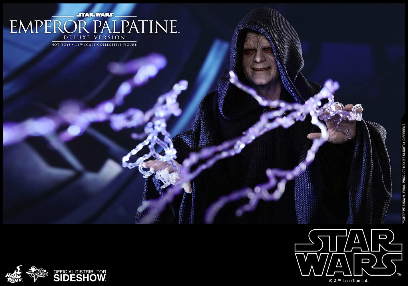 HOT TOYS Emperor Palpatine Deluxe Star Wars Episode VI 1 6 Scale Figure MINT NEW