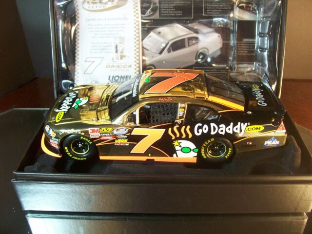 Danica Patrick #7 Godaddy.com GOLD 2011 Chevrolet Impala RCCA Elite 1 of 36 1:24