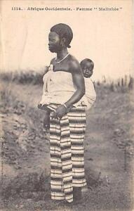 CPA-SENEGAL-FEMME-MALINKEE