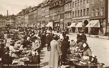 Copenhagen,Denmark,Gammelstrand,Market Place,c.1909