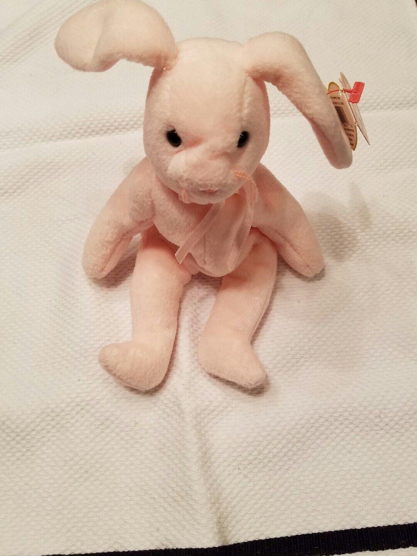 Fehler extrem seltenen original 1996 beanie baby du Rosa ty bunny macht angebot