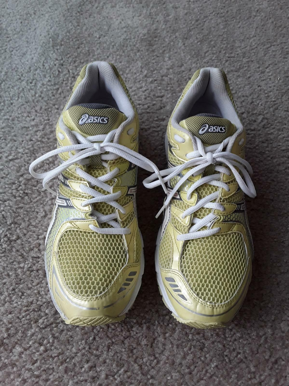 ASICS Gel OS SKY SPEED T0H6N Women's Running Cross Training shoes Sz.9.5 Yellow