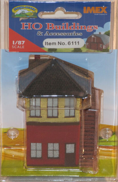 Imex HO Scale Water Tower NEW 6133 Perma-Scene Free Shipping!
