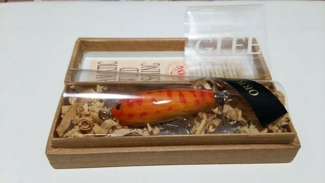 21869) FACTORY HMNG  GLEE Selfish Single swisher Original Wooden Lure Rare    order now with big discount & free delivery