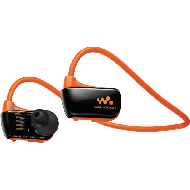 *NEW* SONY NWZ-W273S 4GB Waterproof Walkman Sports Swimming MP3 Player (Orange)