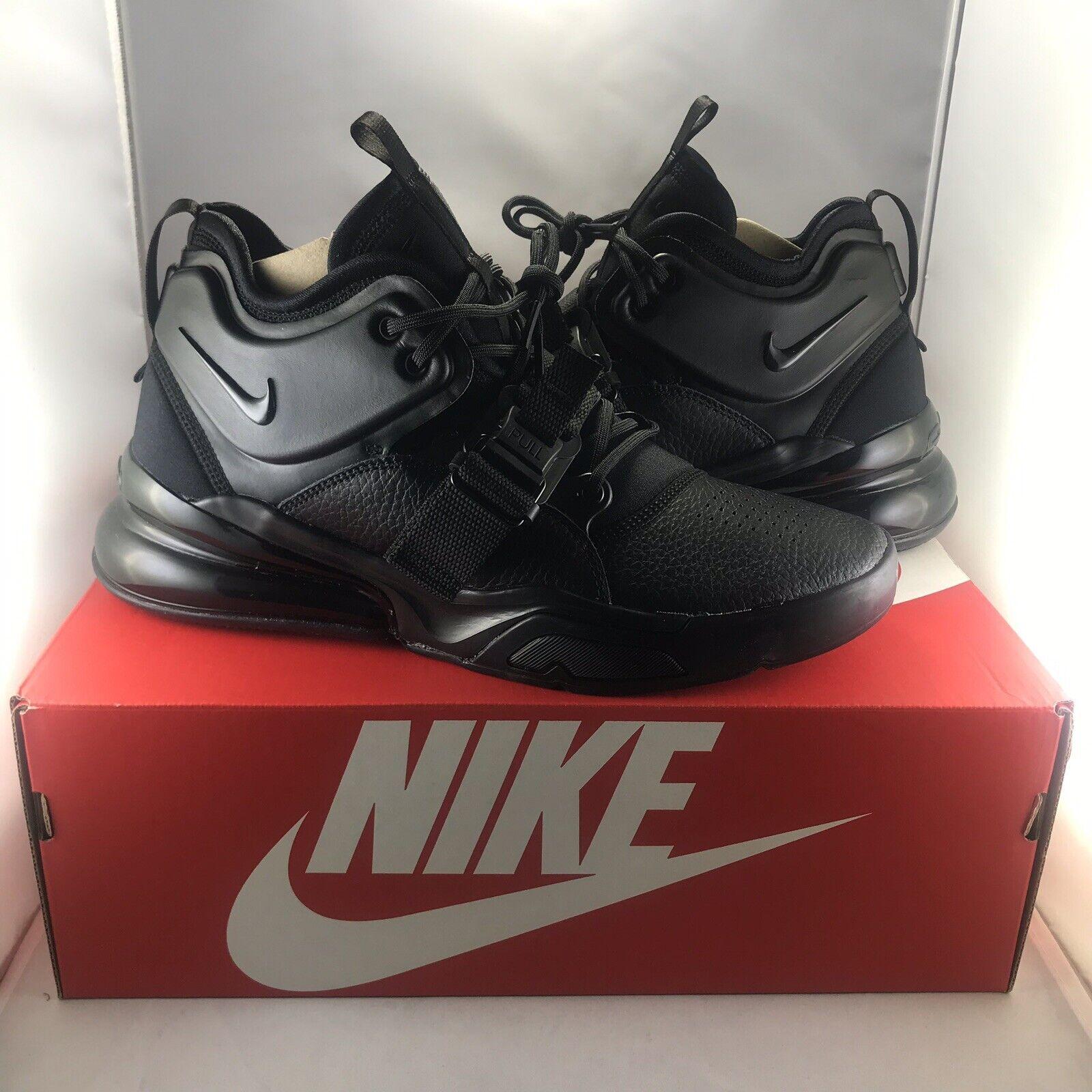 NIKE AIR FORCE 270 Triple Black shoes Sneakers AH6772-010 NEW