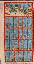 "Christmas Advent Calendar, Winter Magic. 21070  Panel 24""x44"""
