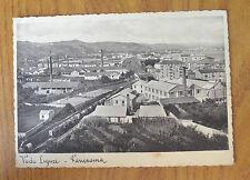 CARTOLINA VADO LIGURE PANORAMA 1938 VIAGGIATA SUBALPINA GG