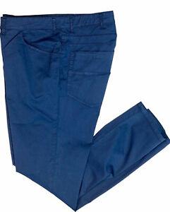df7a0d3a91 Dettagli su Maxfort Pantalone Gregorio jeans leggero cotone Uomo taglie  forti oversize