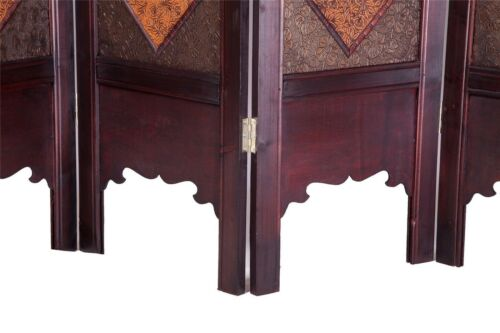 Vintage Oriental Style 6 Panels Screen Room Divider FUR1021