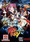 Fatal Fury The Movie 2014 Release R1 DVD Japanese Anime