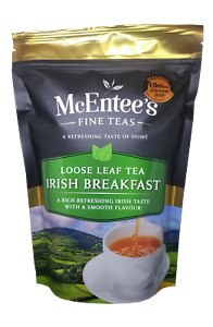 McEntee-039-s-IRISH-BREAKFAST-Tea-250g-Bag-AWARD-WINNING-amp-BLENDED-IN-IRELAND
