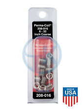 Perma Coil 208 016 Helicoil Thread Insert Pack 6 32 12pc Unc